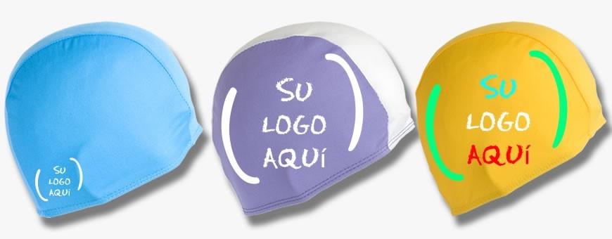 Gorros de natación personalizados de Polyester